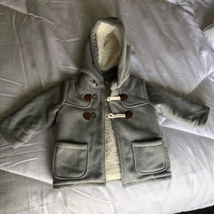 NWOT H&M Sherpa lined coat